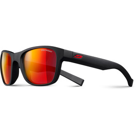 Julbo Reach L Spectron 3CF Sunglasses 10-15Y Kids matt black-multilayer red